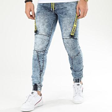 Jogger Pant E7002 Bleu Wash