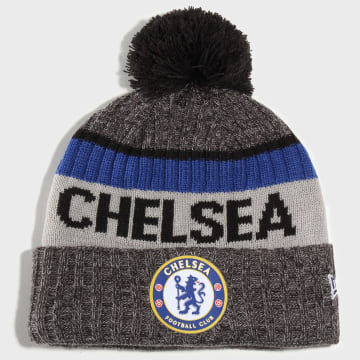 New Era - Bonnet Chelsea Heavy Bobble Gris Chiné