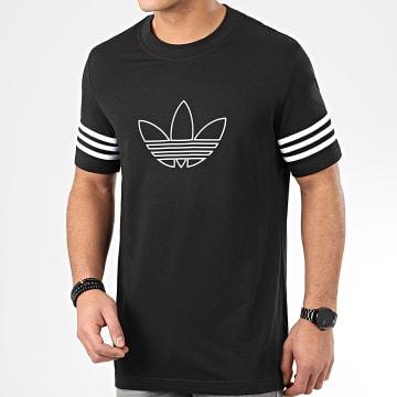 Tee Shirt Outline FM3897 Noir Blanc