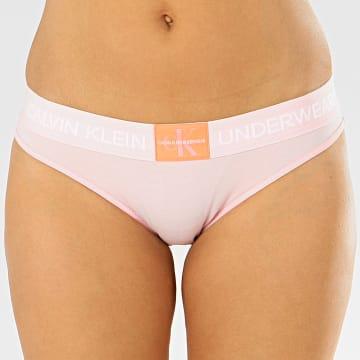 Calvin Klein - Culotte Femme Bikini 4921E Rose Clair