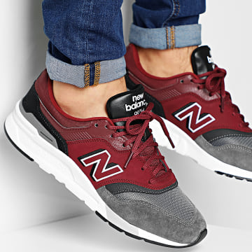 New Balance - Baskets Classics Traditionnels 997H 774451 Hel Red Black