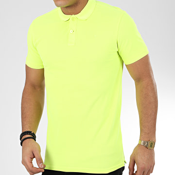 Petrol Industries - Polo Manches Courtes 900 Jaune Fluo