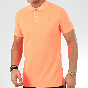 Petrol Industries - Polo Manches Courtes 900 Orange Fluo