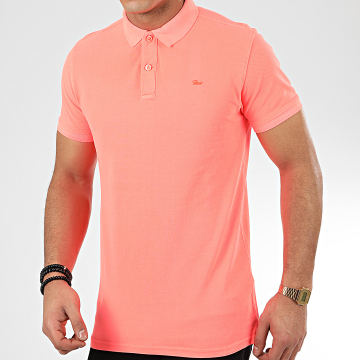 Petrol Industries - Polo Manches Courtes 900 Rose Fluo