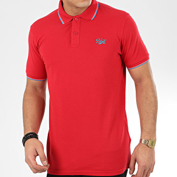 Petrol Industries - Polo Manches Courtes 903 Rouge