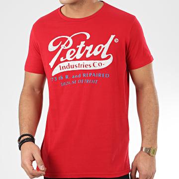 Petrol Industries - Tee Shirt 601 Rouge