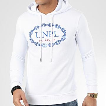 Uniplay - Sweat Capuche HD-15 Blanc
