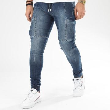 Jogger Pant Jean 170 Bleu Denim