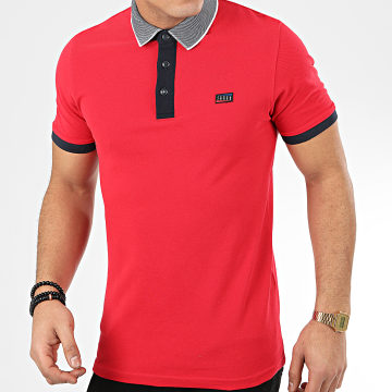 Polo Manches Courtes Charming Rouge