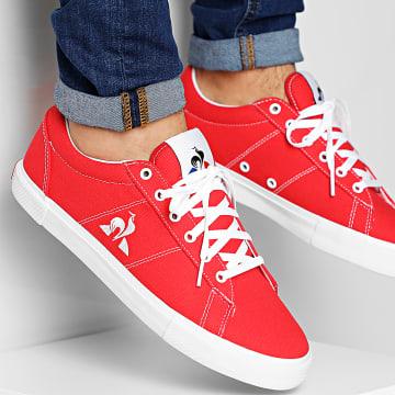 Le Coq Sportif - Baskets Verdon Plus 2010068 Pure Red