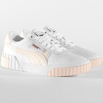 Puma - Baskets Femme Cali 369155 Puma White Rosewater