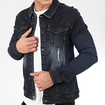 Uniplay - Veste Jean 205 Bleu Brut