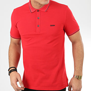 HUGO by Hugo Boss - Polo Manches Courtes Reverse Logo Dinoso 202 50425770 Rouge