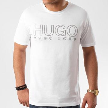 HUGO by Hugo Boss - Tee Shirt Réfléchissant Dolive U202 Blanc
