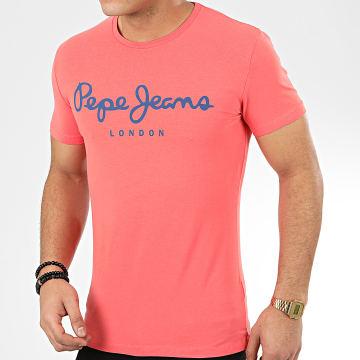 Pepe Jeans - Tee Shirt Original Stretch 501594 Corail
