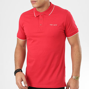 Polo Manches Courtes Pasian 2 Rouge