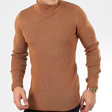 Pull Col Roulé AAP001 Camel