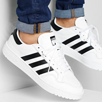 Adidas Originals - Baskets Team Court EG9734 Cloud White Core Black
