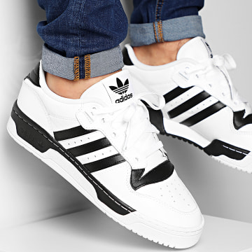Adidas Originals - Baskets Rivalry Low EG8062 Footwear White Core Black