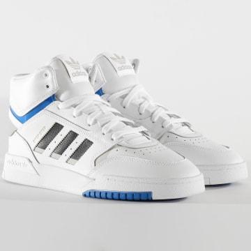 Baskets Montantes Drop Step EF7137 Footwear White Met Grey Glo Blue