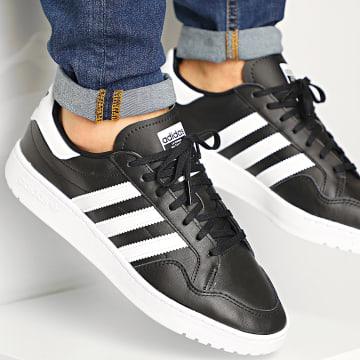 Adidas Originals - Baskets Team Court EF6048 Core Black Footwear White