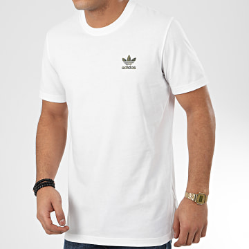 Tee Shirt Camo Essential FM3355 Blanc