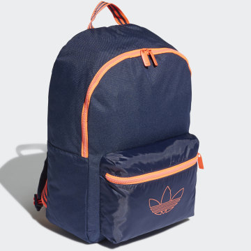 Adidas Originals - Sac A Dos SPRT FN2058 Bleu Marine Orange Fluo