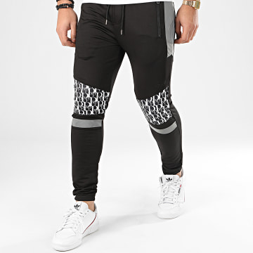 Pantalon Jogging 2040066 Noir Réfléchissant