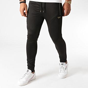 Project X - Pantalon Jogging 2040061 Noir Doré