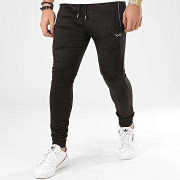 Pantalon Jogging 2030061 Noir Doré