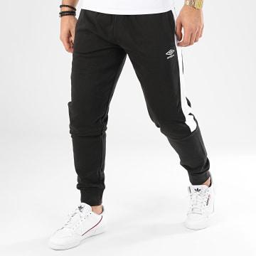 Umbro - Pantalon Jogging A Bandes 771790 Noir Blanc