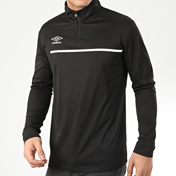Umbro - Sweat Col Zippé 724910-60 Noir