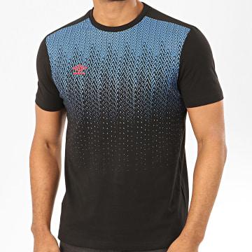 Umbro - Tee Shirt Alive 770980 Noir Bleu