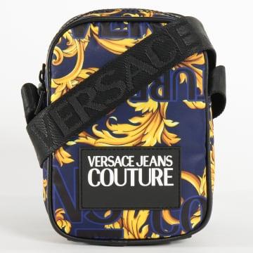 Versace Jeans Couture - Sacoche Linea Print E1YVBB22 Bleu Marine Renaissance