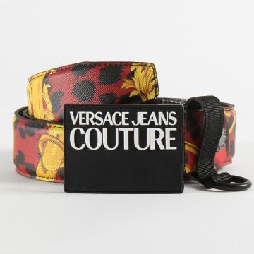Versace Jeans Couture - Ceinture Linea Uomo D8YVBF34 Rouge Renaissance