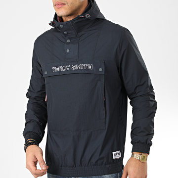 Teddy Smith - Veste Outdoor Sander Bleu Marine