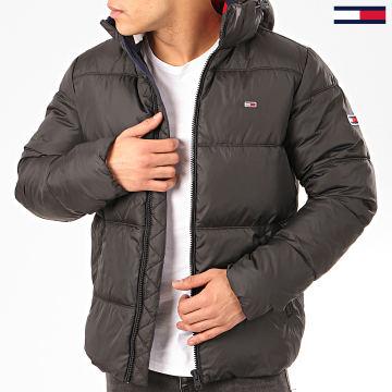 Tommy Jeans - Doudoune Capuche Essential Hood Puffer 7114 Noir
