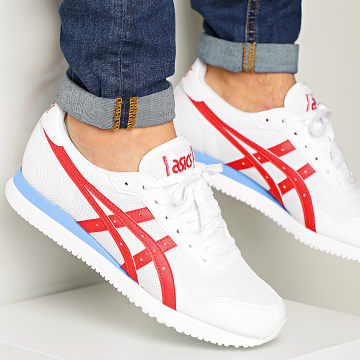Asics - Baskets Tiger Runner 1191A207 White Classic Red