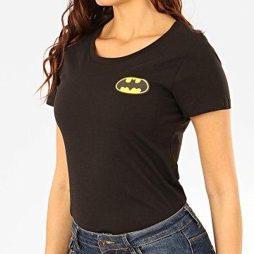 Tee Shirt Femme Back Logo Noir