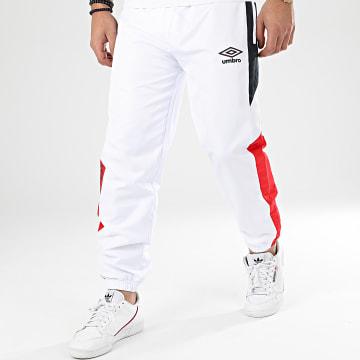 Pantalon Jogging Tricolore A Bandes 771980 Blanc Bleu Marine Rouge