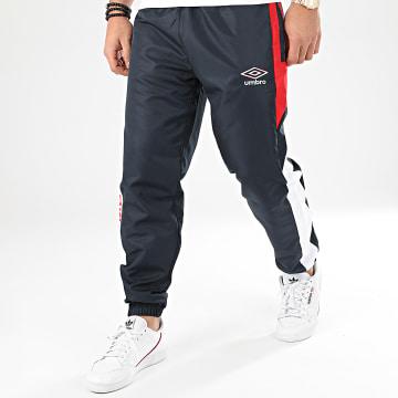 Pantalon Jogging Tricolore A Bandes 771980 Bleu Marine Rouge Blanc