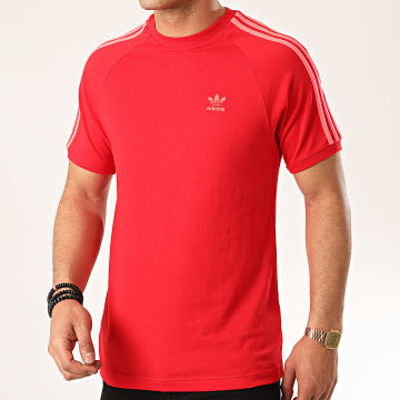 Adidas Originals - Tee Shirt A Bandes 3 Stripes ED5954 Rouge
