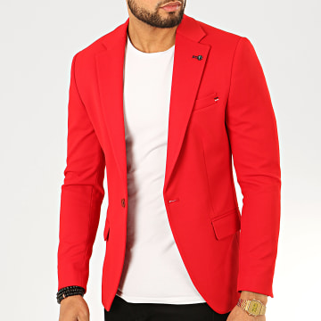 Black Needle - Veste Blazer X-20255 Rouge