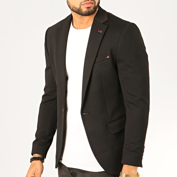 Black Needle - Veste Blazer X-20255 Noir