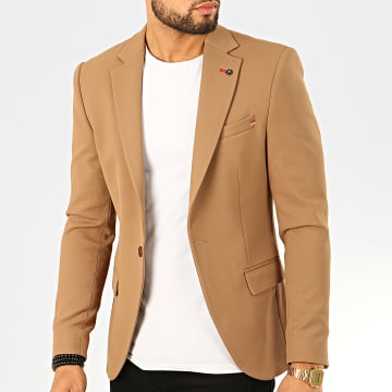 Black Needle - Veste Blazer X-20255 Marron Clair
