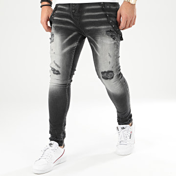 Jean Skinny DH-2907 Gris Anthracite