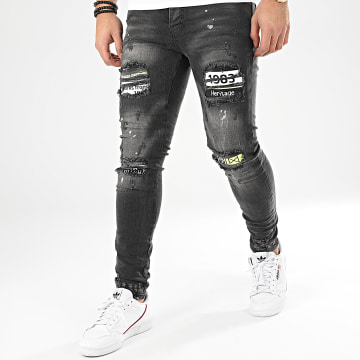 Classic Series - Jean Skinny DHZ-2952 Gris Anthracite