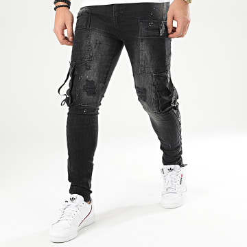 Jean Skinny DH-2972 Gris Anthracite