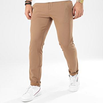 Classic Series - Pantalon Chino X-654 Marron Clair