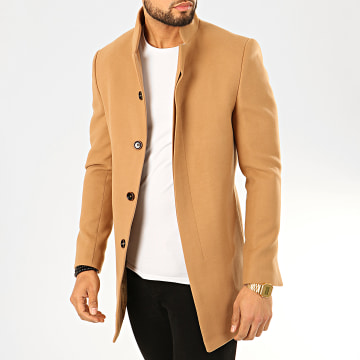 Manteau O-11110 Marron Clair